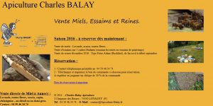 Charles BALAY-Apiculteur